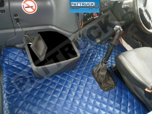 SCANIA R 2005-09 MANUAL TRUCK ECO LEATHER FLOOR SET-BLUE