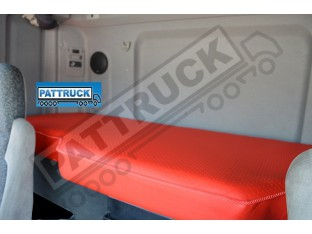 TRUCK ECO LEATHER BED COVER FIT DAF CF 85/ NEW DAF CF EURO 6 -RED