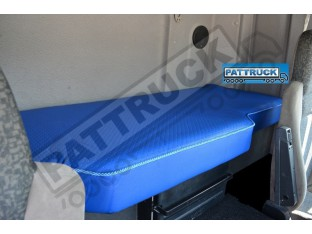 TRUCK ECO LEATHER BED COVER FIT DAF CF 85/ NEW DAF CF EURO 6 -BLUE