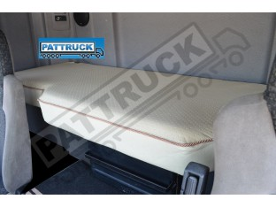 TRUCK ECO LEATHER BED COVER FIT DAF CF 85/ NEW DAF CF EURO 6 -BEIGE