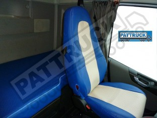 TRUCK ECO LEATHER BED COVER -BLUE COMPATIBLE WITH VOLVO FH4 2013-2019