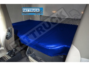 TRUCK ECO LEATHER BED COVER FIT RENAULT PREMIUM -BLUE