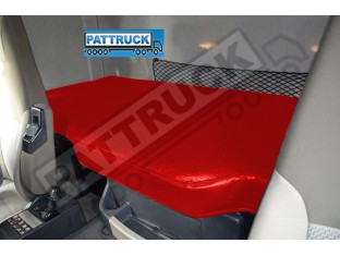 TRUCK ECO LEATHER BED COVER FIT RENAULT PREMIUM -RED