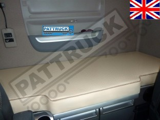 TRUCK ECO LEATHER BED COVER FIT DAF XF 106-BEIGE