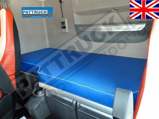 TRUCK ECO LEATHER BED COVER FIT DAF XF 106 -BLUE