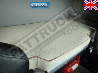 TRUCK ECO LEATHER BED COVER FIT DAF XF 105 -BEIGE