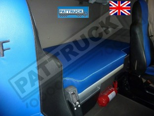 TRUCK ECO LEATHER BED COVER FIT DAF XF 105 -BLUE