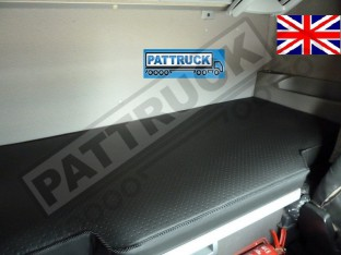 TRUCK ECO LEATHER BED COVER FIT DAF XF 105 -BLACK