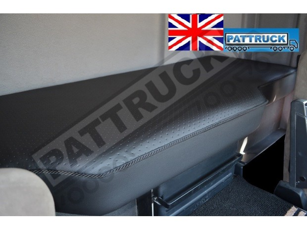 TRUCK ECO LEATHER BED COVER FIT DAF CF 85/ NEW DAF CF EURO 6 -BLACK