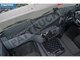 DAF CF EURO 6 - ECO LEATHER DASH MAT-BLACK