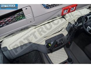 DAF CF EURO 6 - ECO LEATHER DASH MAT-BEIGE
