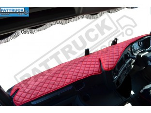 SCANIA R , S NEW GENERATION-TRUCK ECO LEATHER DASH MAT-RED
