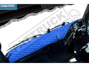 SCANIA R , S NEW GENERATION-TRUCK ECO LEATHER DASH MAT-BLUE