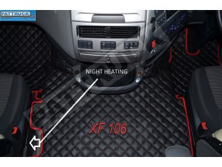 DAF XF 106 AUTOMATIC TRUCK ECO LEATHER FLOOR SET