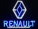 RENAULT TRUCK LED LOGO LIGHT BOARD 24V DIMMER+WIRELESS REMOTE CONT