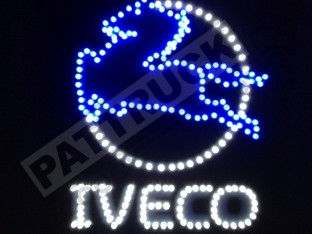 IVECO TRUCK LED LOGO LIGHT BOARD 24V DIMMER+WIRELESS REMOTE CONT