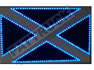 Flag of Scotland TRUCK LED LOGO LIGHT BOARD - FREE DIMMER