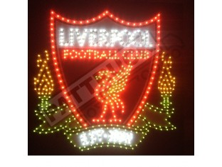 LIVERPOOL FC TRUCK LED LOGO LIGHT BOARD - FREE DIMMER