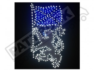 SCOTTISH RAMPANT LION TRUCK LED LOGO LIGHT BOARD