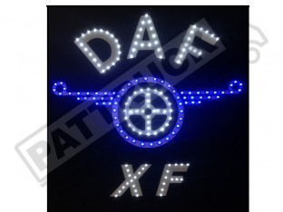 DAF TRUCK LED LOGO LIGHT BOARD FREE DIMMER