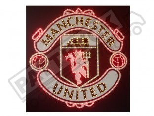 MANCHESTER UNITED TRUCK LED LOGO LIGHT BOARD FREE DIMMER