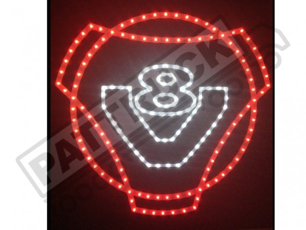 SCANIA V8 TRUCK LED LOGO LIGHT BOARD FREE DIMMER