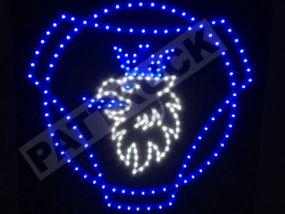 SCANIA V8 TRUCK LED LOGO LIGHT BOARD