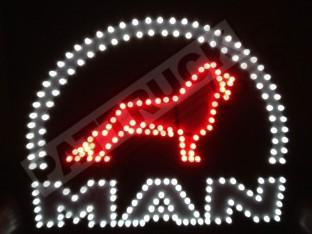 MAN TRUCK LED LOGO LIGHT BOARD