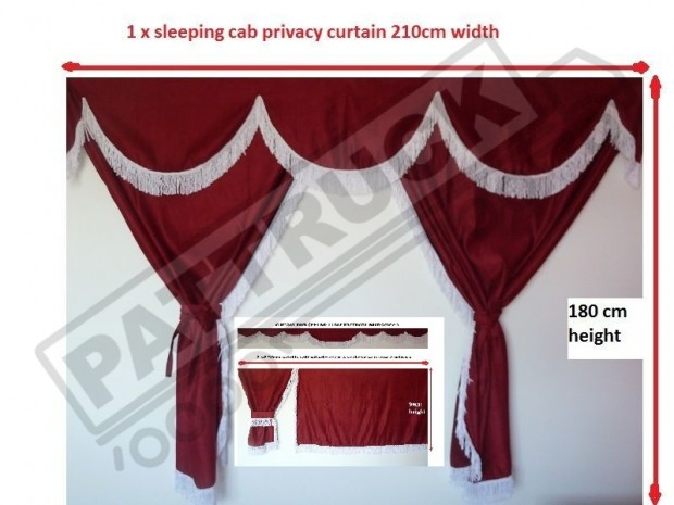 TRUCK CURTAINS FOR DAF SUPER SPACE CAB