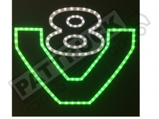 SCANIA V8 TRUCK LED LOGO LIGHT BOARD