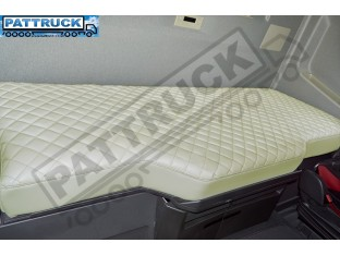 TRUCK ECO LEATHER BED COVER -BEIGE COMPATIBLE WITH VOLVO FH4 2013-2019