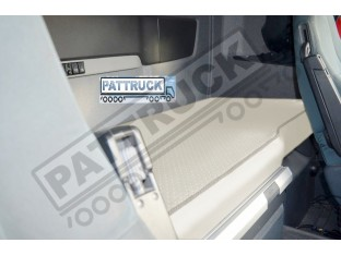 TRUCK ECO LEATHER BED COVER -BEIGE COMPATIBLE WITH VOLVO FH3 2009-2013
