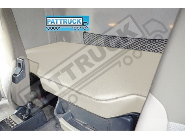 TRUCK ECO LEATHER BED COVER FIT RENAULT PREMIUM -BEIGE