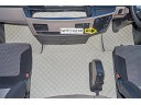 MAN TGX TRUCK ECO LEATHER FLOOR SET-BEIGE - AFTER 67 PLATE