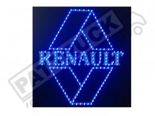 RENAULT TRUCK LED LOGO LIGHT BOARD 24V DIMMER+WIRELESS REMOTE CONT