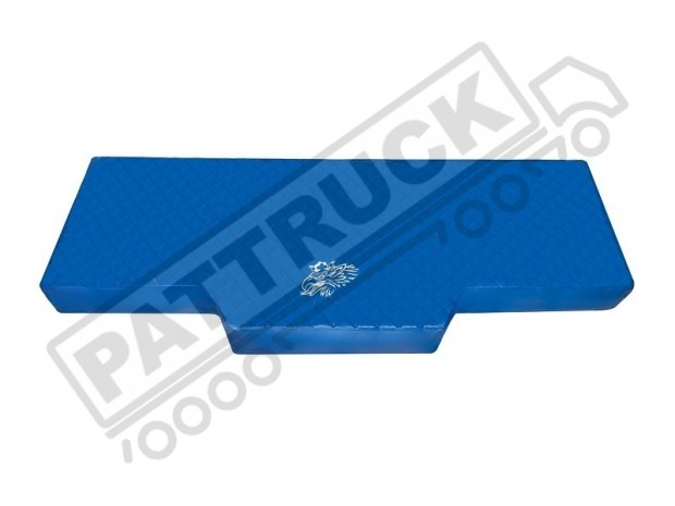TRUCK BED COVER FIT SCANIA R STREAMLINE 2013-2017 ECO LEATHER BLUE