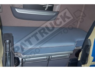 TRUCK ECO LEATHER BED COVER FIT DAF XF 106 -GRAY