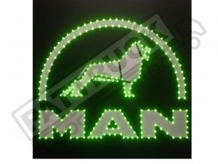 MAM TRUCK LED LOGO LIGHT BOARD FREE DIMMER