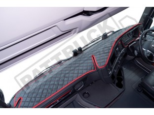 SCANIA R , S NEW GENERATION-TRUCK ECO LEATHER DASH MAT-BLACK