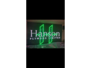 HANSON TRUCK LED LOGO LIGHT BOARD - FREE DIMMER