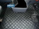 SCANIA R 2005-09 MANUAL TRUCK ECO LEATHER FLOOR SET-BLACK
