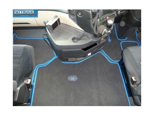 Velour floor mats set