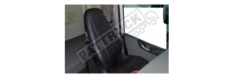 Eco leather seat cover for Volvo truck FH4 2013 - great quality