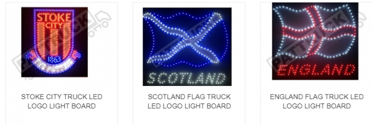 24 volt LED truck lorry interior lights - Mercedes lorry parts & accessories